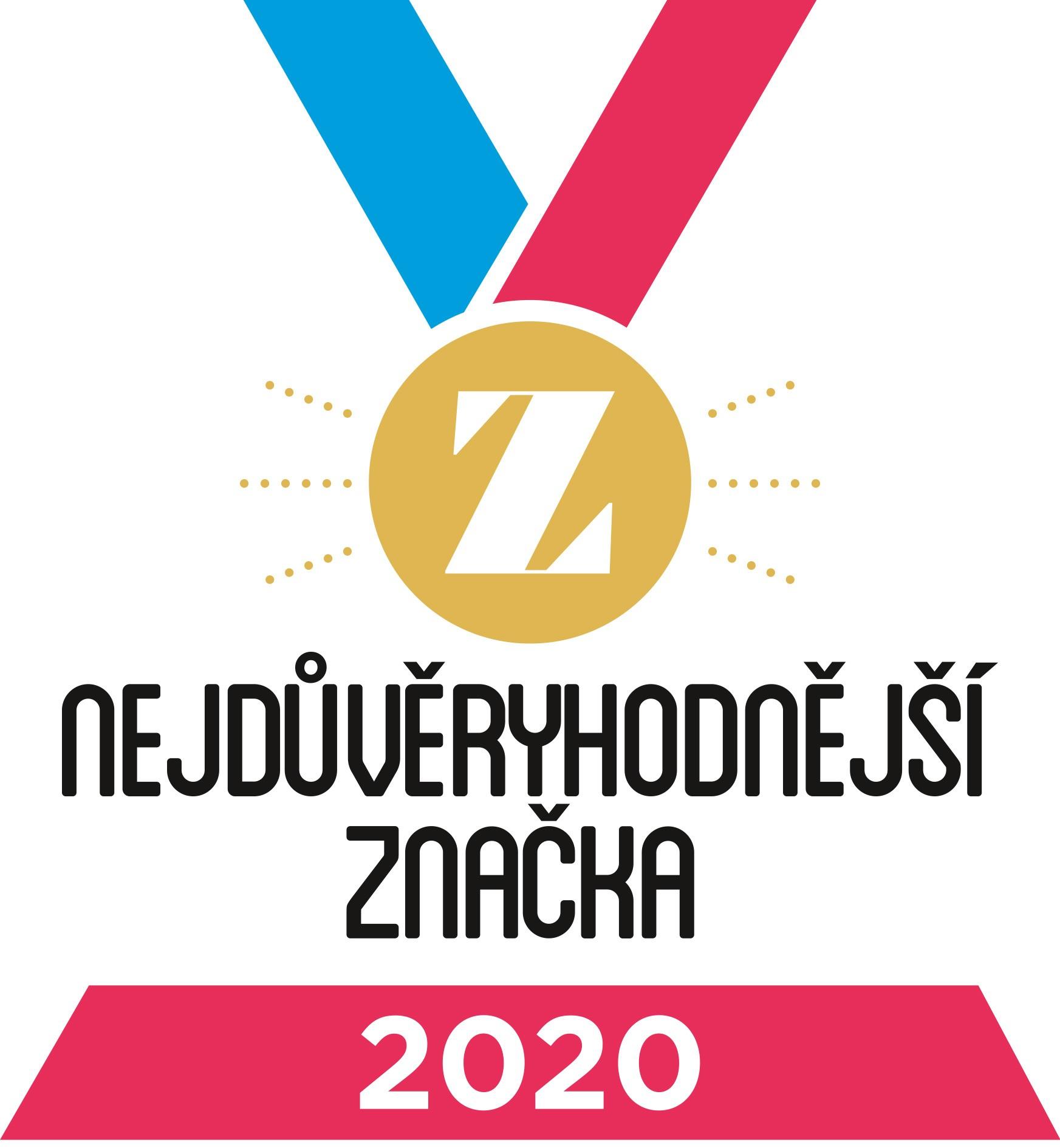 Nejdůvěryhodnější značka 2020